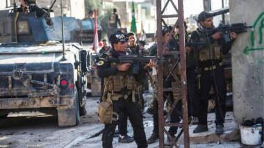 """""""مكافحة الإرهاب"""" يصدّ هجوماً لعناصر داعش في أثناء عبورهم النهر إلى جنوب شرقي الموصل"""