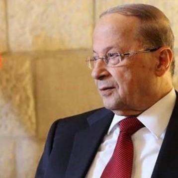 مارين لوبن تلتقي في بيروت الرئيس اللبناني