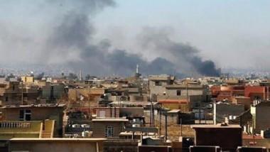 داعش يعاقب أهالي أيمن الموصل بحرق منازلهم بعد نهب محتوياتها