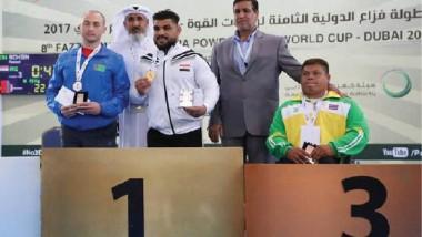 «البارالمبية» تحصل على خمس ميداليات ملونة في ختام بطولة فزاع للأثقال