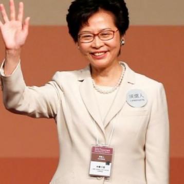 اختيار «كاري لام» رئيسة تنفيذية جديدة لهونج كونج