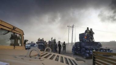 """""""الاتحادية"""" تعلن قتل 135 إرهابياً بعملية دواسة الموصل ومحيطها"""