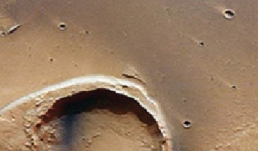 العثور على آثار الطوفان على سطح المريخ