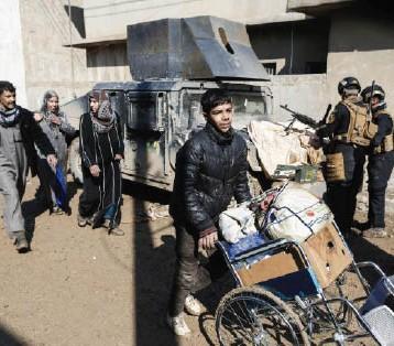 """القوّات المشتركة تحرر حي """"العروبة"""" والمنطقة الصناعية في أيمن الموصل"""