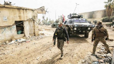 استسلام جماعي لعناصر داعش في حيي الرسالة ونابلس في أيمن الموصل
