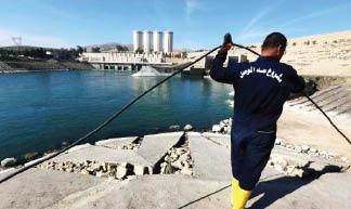 """وزير الموارد المائية لـ""""الصباح الجديد"""": أعمال الصيانة في سد الموصل مستمرة.. ولا حاجة لإنشاء سد بديل"""