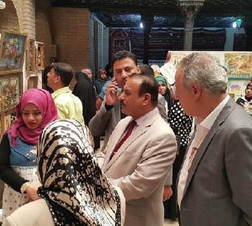 افتتاح المعرض السنوي لنتاجات الطلبة والمعلمين والمدرسين