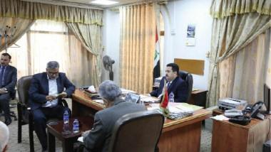 وزير الصناعة يوجّه بتفعيل العمل المشترك مع الجهات الحكومية