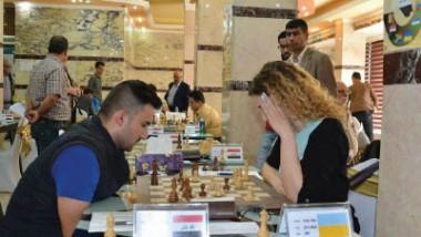 البلجيكي فادم يتصدر بطولة العراق الدولية الخامسة بالشطرنج