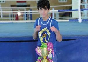 حيدر هادي.. يطمح بالتفوق في الملاكمة