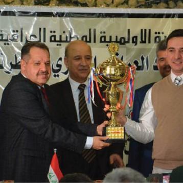 البلجيكي فادم يتوّج بلقب بطولة العراق الدولية الخامسة بالشطرنج