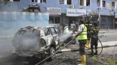 قتلى وجرحى في تفجيرين بالعاصمة الصومالية مقديشو