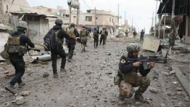 """جهاز مكافحة الإرهاب يقتحم حيي """"الصمود وتل الرمان"""" في أيمن الموصل"""