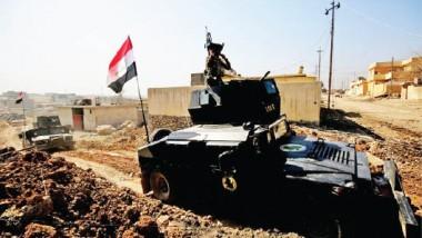 """""""مكافحة الإرهاب"""" يحقق التماس مع الشرطة الاتحادية بعد السيطرة على الجسر القديم في أيمن الموصل"""