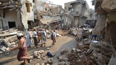 مقتل 22 مدنياً في ضربة جوّيّة للتحالف بقيادة السعودية باليمن