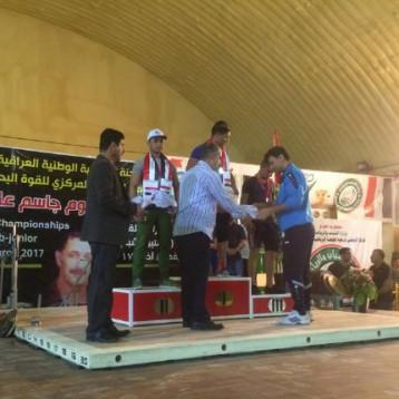 واسط تحرز بطولة منتخبات محافظات العراق بالقوة البدنية لفئة الناشئين والشباب