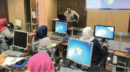 «الدار العراقية للأزياء» تشارك في دورة أساسيات الحاسبات ونظام الويندوز