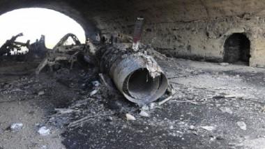 الولايات المتحدة تستهدف مطاراً عسكرياً سورياً بـ 59 صاروخاً ومقتل ستة أشخاص