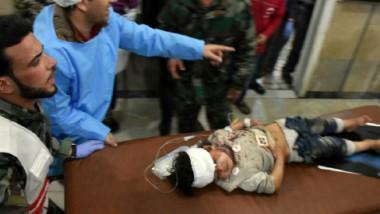 ارتفاع عدد قتلى تفجير حافلات نازحي كفريا  والفوعة غربي حلب إلى أكثر من مئة