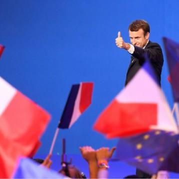 ماكرون ولوبان يتصدران الجولة الثانية في الانتخابات الفرنسية