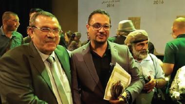 """الشاعر عمر السراي يفوز بجائزة الإبداع عن """"وجه الى السماء – نافذة إلى الأرض"""""""