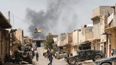 أربعة أحياء تفصل جهاز مكافحة الإرهاب عن إتمام واجباته في أيمن الموصل