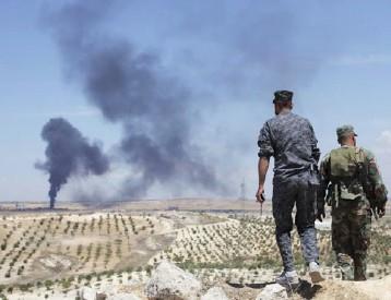 التحالف الدولي يبدأ مرحلة جديدة لتطويق وقطع الطريق لـ»معاقل» الإرهابين في محافظة دير الزور