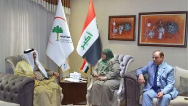 وزيرة الصحة تبحث تعزيز الخدمات الصحية في مناطق حزام بغداد