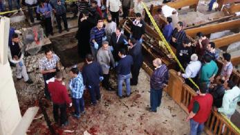 انفجاران في كنيستين بطنطا والإسكندرية يودي بعشرات القتلى والجرحى