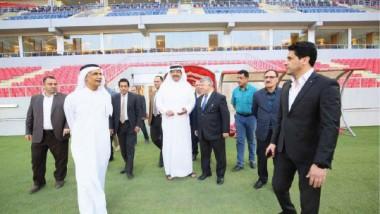 «الآسيوية» تبدي إعجابها بملعب كربلاء وتغادر إلى أربيل والبصرة