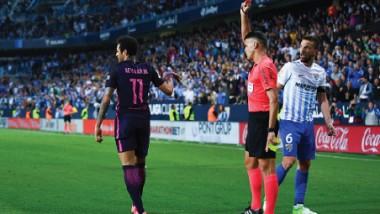 نيمار ينهي سلسلة 59 مباراة نظيفة لبرشلونة بالليجا