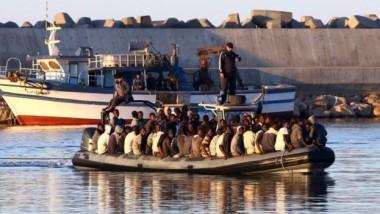 فقدان 97 مهاجراً بعد غرق مركب قبالة سواحل ليبيا