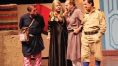 """""""بيت الريس"""" مسرحية شعبية كوميدية هادفة على خشبة المسرح الوطني"""