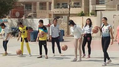 «الرصافة الأولى للبنات» يستعد لمنافسات كرة السلة