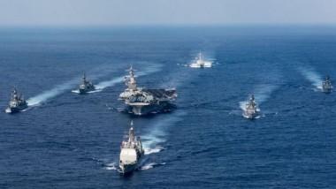 واشنطن تحرك قطعا حربية من المحيط الهادئ باتجاه شبه الجزيرة الكورية