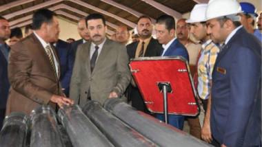 وزير الصناعة يفتتح معمل بلاستك بغداد لتصنيع الأنابيب