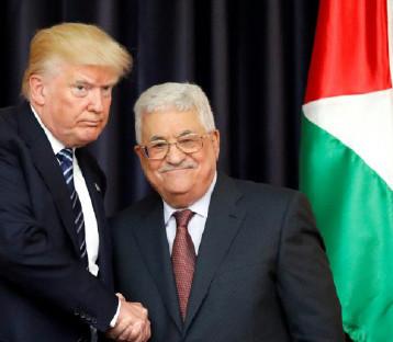 ترامب يتعهّد بدعم المفاوضات للتوصّل  إلى اتفاق سلام في الشرق الأوسط