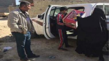 العمل ومنظمة باسل الرحيم تكفلان  عدداً من النساء الفاقدات للمعيل