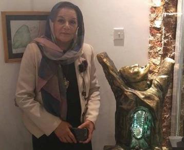 معرض للفنانة التشكيلية كفاح عبد المجيد في جاليري مجيد