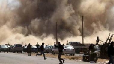 طائرات حربية تقصف من جديد درنة الليبية  وتقتل 52 مسلحاً من «الإنقاذ»