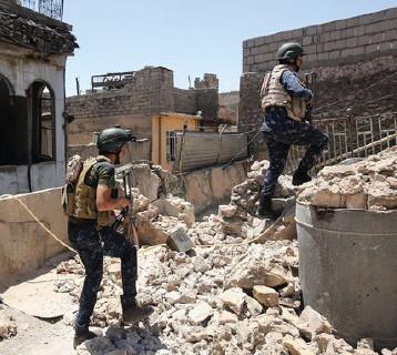 القوّات المشتركة تستعد لاقتحام الموصل القديمة بعد انتهائها من تحرير ثلاثة أحياء في أيمن المدينة