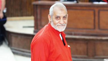 المؤبد لمرشد الإخوان بعد إعادة محاكمته