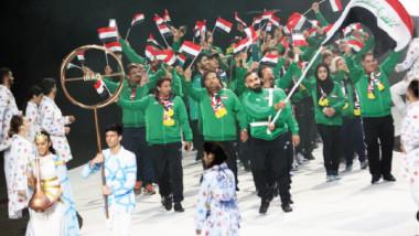 وفدنا العراقي ينال الحفاوة في حفل ختام «التضامن الإسلامي»