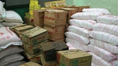 التجارة تتابع تجهيز العائلات في المناطق المحررة والنازحين بالغذائية