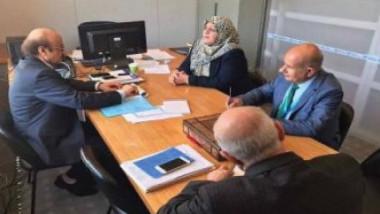 وزيرة الصحة تبحث مع المدير الإقليمي لشرق المتوسط المزيد من الدعم