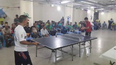 نادي الدفاع المدني يضيّف بنجاح أول بطولة لكأس وزير الداخلية بكرة الطاولة