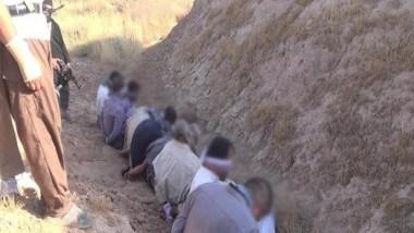 """""""داعش"""" يعدم 14 من عناصره بينهم قيادي لفرارهم من المعارك"""