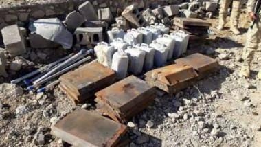 ضبط معمل لتصنيع العبوات الناسفة والمواد المتفجرة في أيسر الموصل