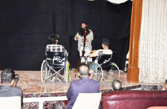 عرض مسرحي جاد على أروقة الجامعة العراقية