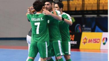 شباب الصالات يحقق انتصاره الأول على حساب البحرين ويلاعب بروناي اليوم